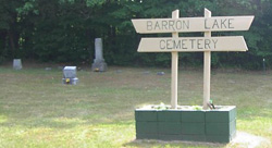 Barron Lake Cemetery